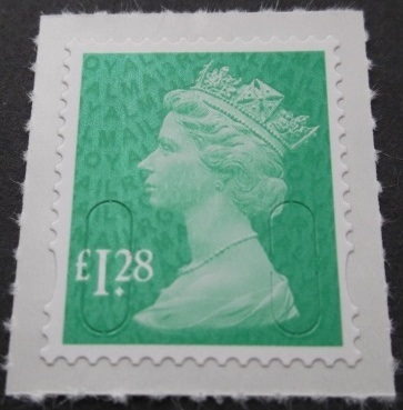 2013 GB - SGU2934 (UJD46-13) £1.28 Emerald Green (D) 2B MA13 MNH
